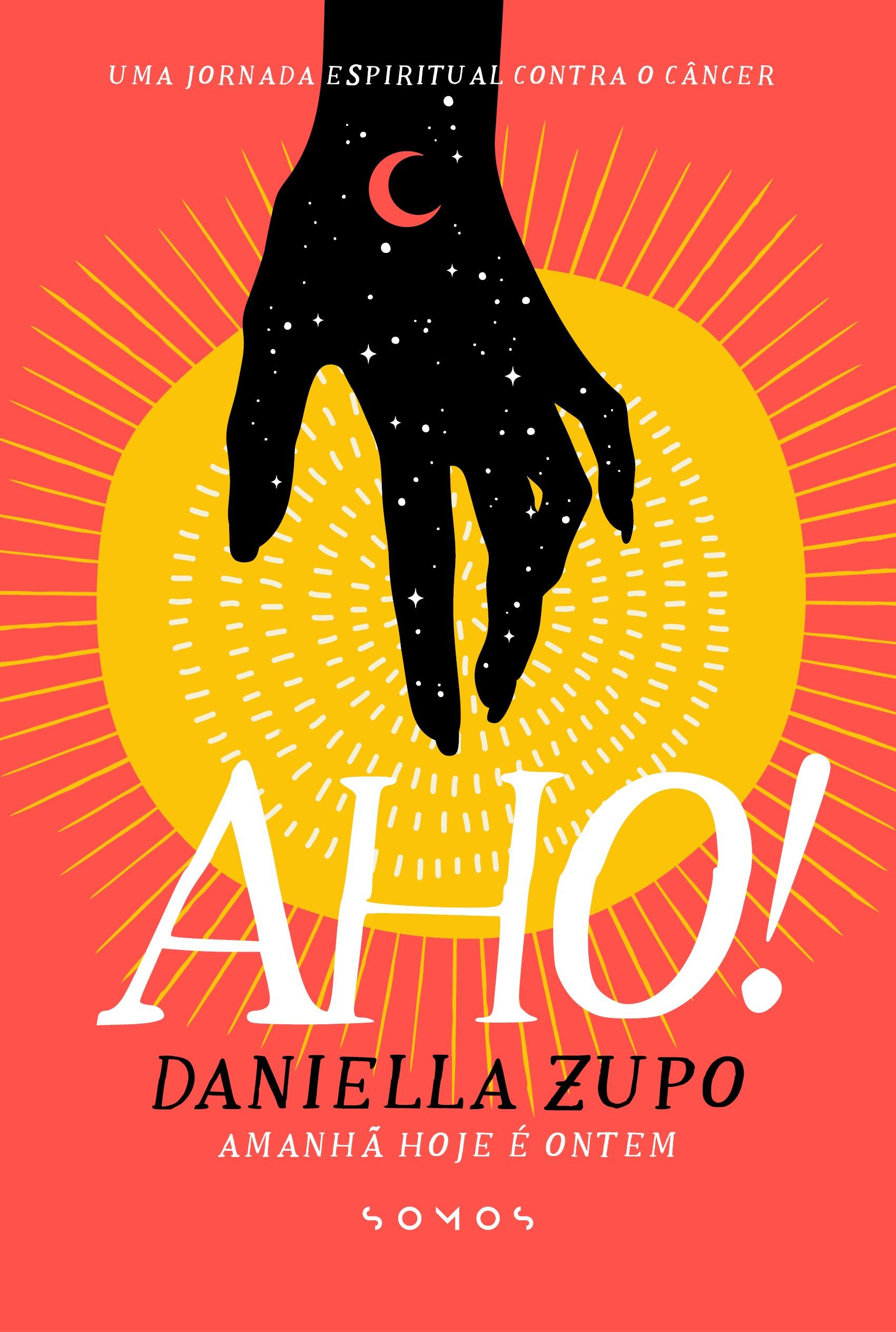 """A brasileira Danielle Zupo também figura entre os autores jornalistas da rodada, com o livro """"Amanhã Hoje É Ontem"""", um relato sobre sua jornada após receber o diagnóstico de câncer de mama (Foto: Reprodução)"""