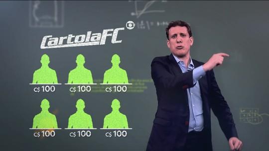 Estudo de campo: como montar um time com C$ 100 para mitar na rodada #1 do Cartola FC