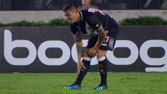 Ramon sente dores da perna e é substituído aos 36 do 1º