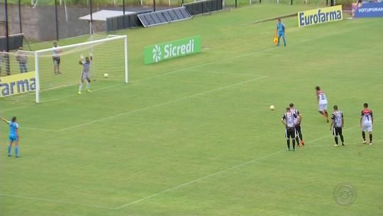 Votuporanguense sai na frente com gol olímpico, mas cede empate ao Trem-AP; Inter avança