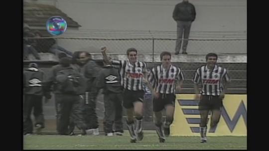Você se lembra? De virada, Atlético-MG vence Paraná pelo Campeonato Brasileiro de 1995
