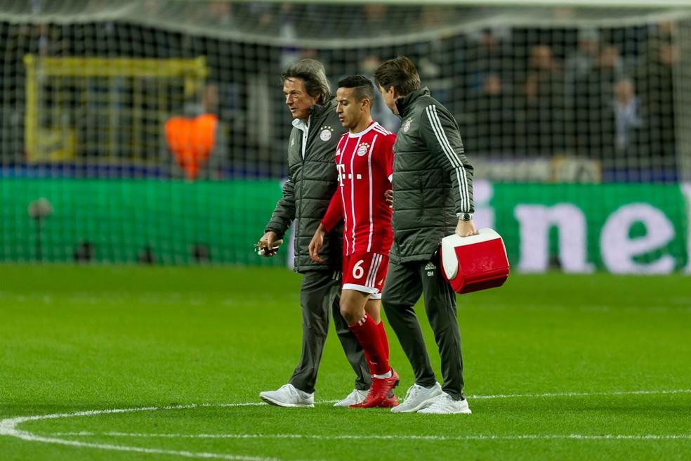 Situação de Thiago parece ser mais séria, segundo disse o técnico Heynckes (Foto: TF-Images/TF-Images via Getty Images)