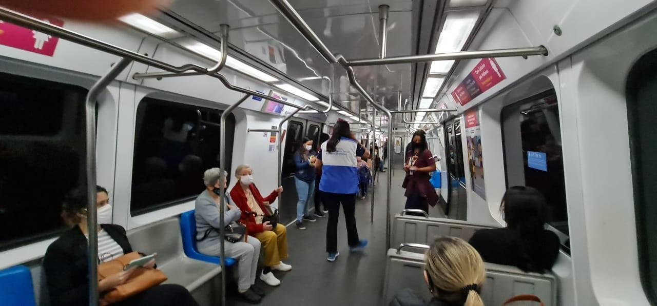 Metrô do Rio terá ação para combater violência contra a mulher