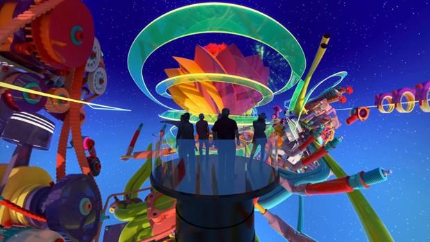 Steven Spielberg cria cinema esférico de realidade virtual  (Foto: Reprodução)