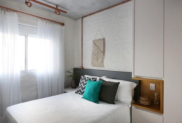 Estilo industrial define apartamento em São Paulo (Foto: Mariana Orsi)