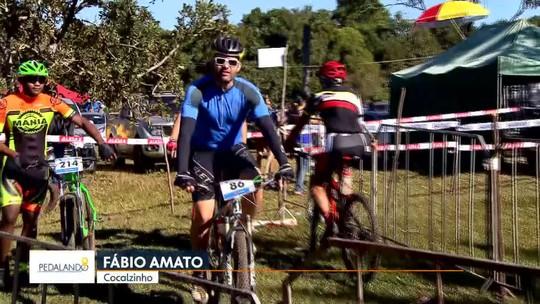 Pedalando: repórter do G1 acompanha prova de mountain bike em Cocalzinho