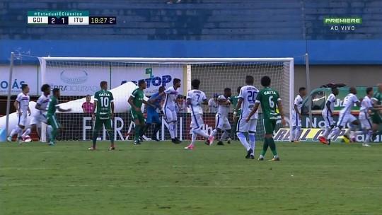 Recuperado de lesão, Breno comemora primeiro gol pelo Goiás