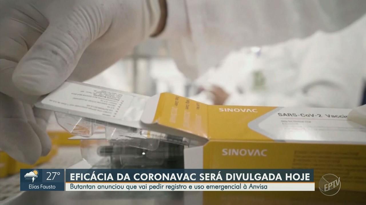 Instituto Butantan anuncia resultados da fase três da vacina coronavac nesta quarta