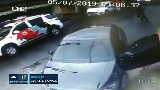 Polícia tenta identificar casal que roubou clínica na ZN