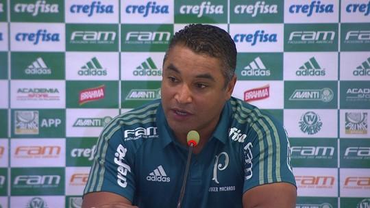 """Roger analisa atuação e tenta ignorar pressão no Palmeiras: """"Não posso me mover pelo que acontece do lado de fora"""""""