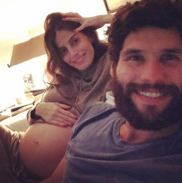 Dudu Azevedo e a mulher, Fernanda Mader (Foto: Reprodução/Instagram)