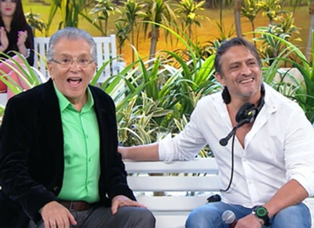 Carlos Alberto de Nóbrega e Marcelo de Nóbrega (Foto: Reprodução/Instagram)