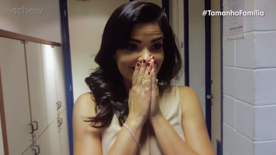 Vanessa Giácomo brinca de 'caras e bocas' e mostra reações que tem com os filhos