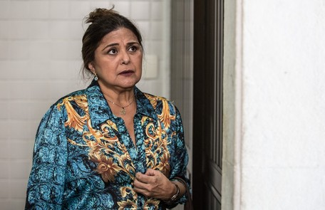 Na quinta (3), Aurora (Elizangela) vai aviar a Bibi que Caio (Rodrigo Lombardi) deixou o caso de Rubinho é Aurora  Fábio Rocha / Gshow