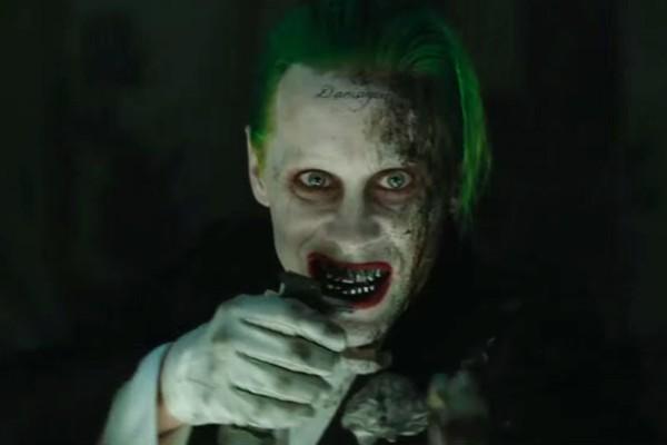 O ator Jared Leto no papel do vilão Coringa em Esquadrão Suicida (Foto: Reprodução)