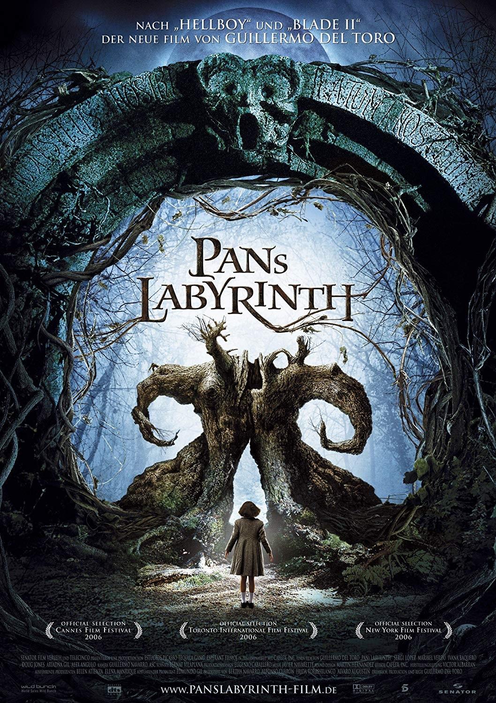 Cartaz de 'O Labirinto do Fauno' (Foto: Divulgação)