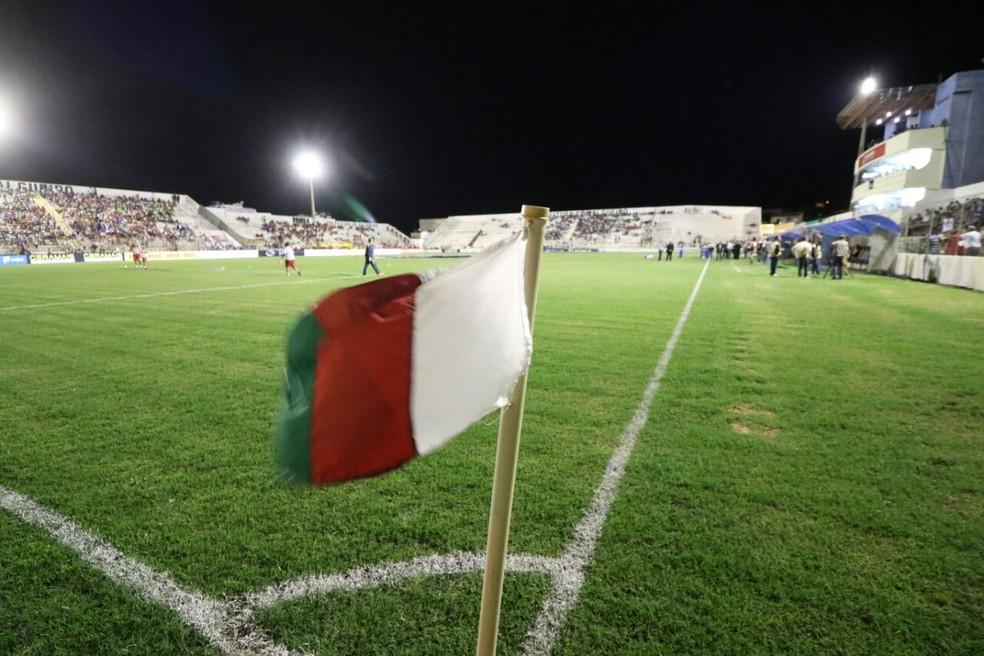 Estádio Cornélio de Barros vai receber a partida entre Salgueiro x Ceará — Foto: Marlon Costa / Pernambuco Press