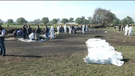 Sobe para 79 número de mortos em explosão de oleoduto no México
