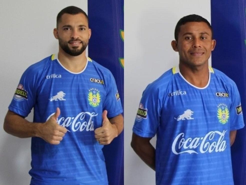 E mais reforços chegam ao Naça: Sousa e Denis Pedra (Foto: Divulgação Nacional)