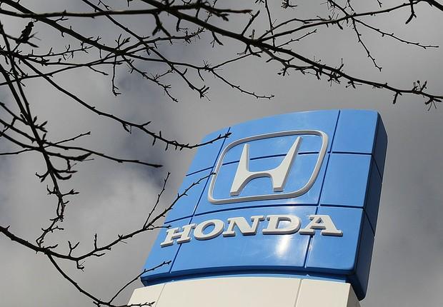 Logo da Honda é visto em concessionária da marca (Foto: Justin Sullivan/Getty Images)