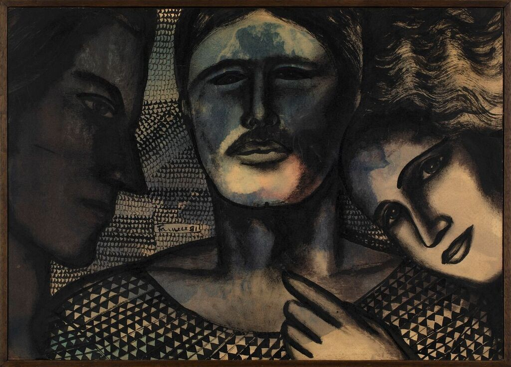 Obra de Farnese de Andrade na Almeida & Dale (Foto: Divulgação)