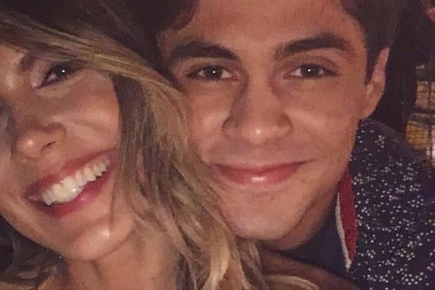 Lucas Veloso e Nathalia Melo (Foto: Reprodução/Instagram)