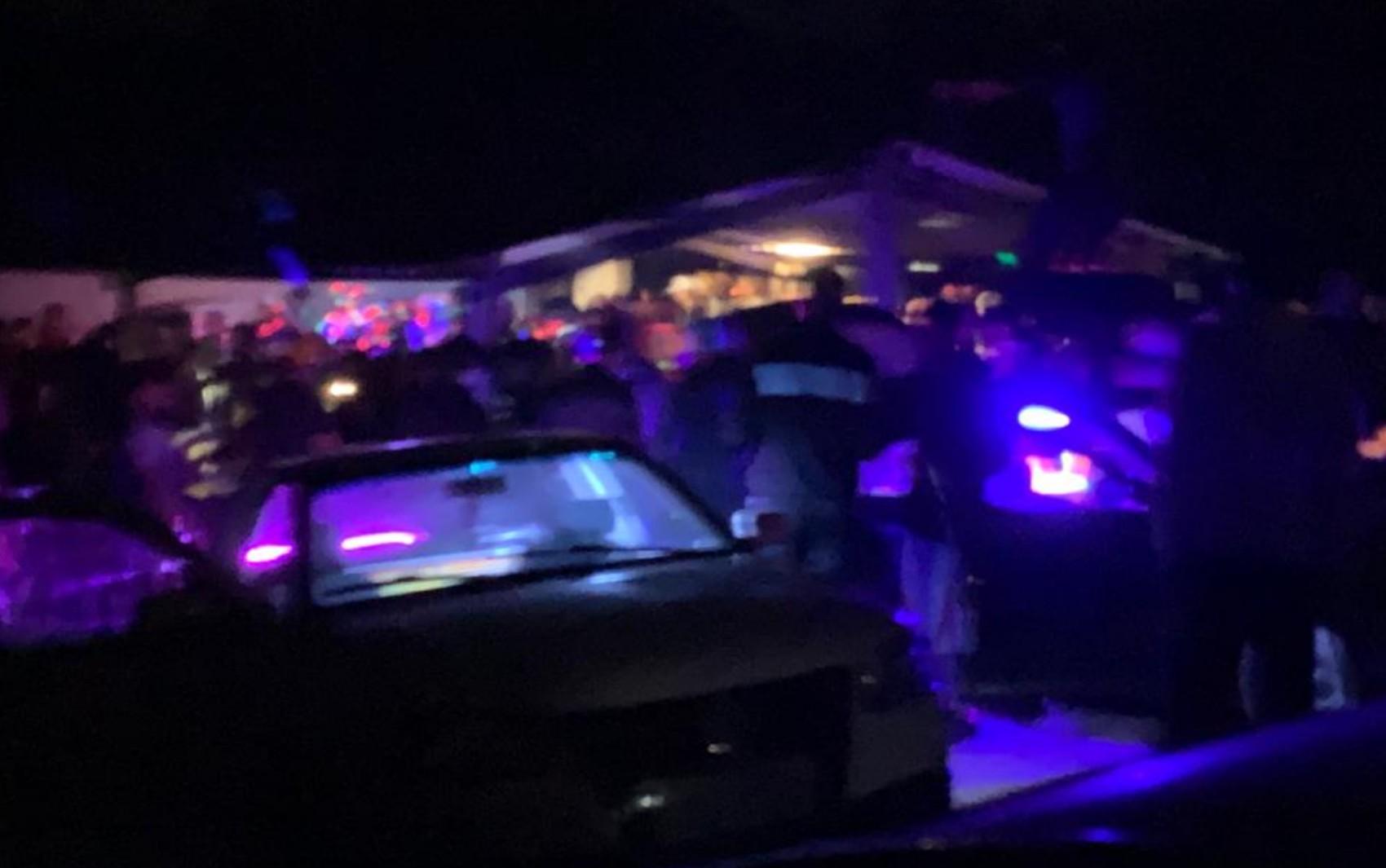 Polícia Militar acaba com festa que tinha cerca de 300 pessoas, em Anápolis