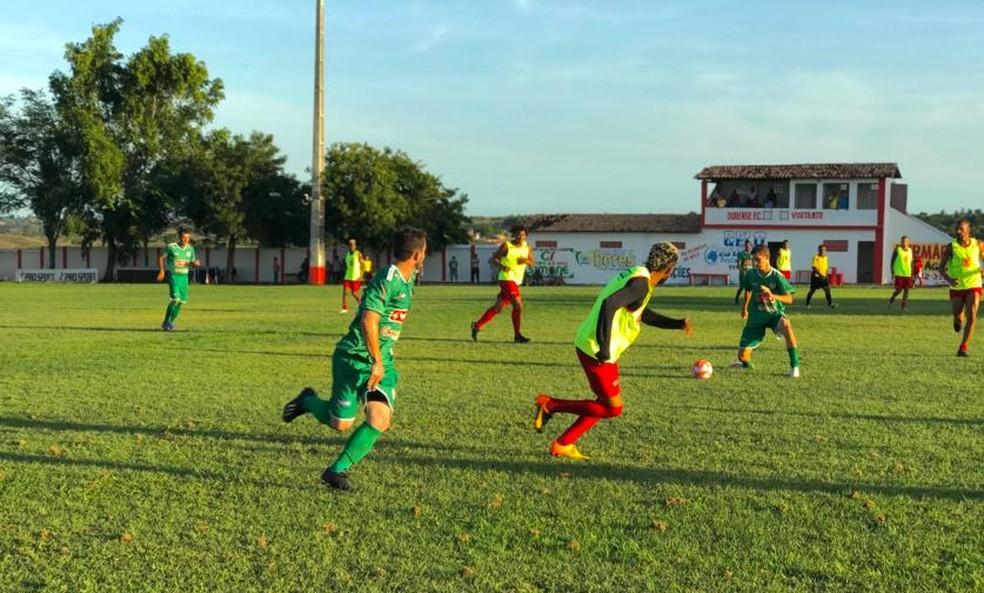 Dorense vence jogo-treino no Estádio Ariston Azevedo — Foto: Deivson Souza/Dorense FC