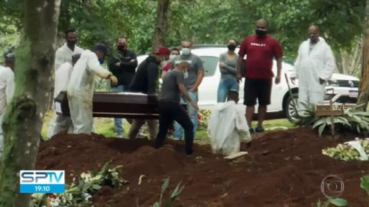 São Paulo registra 1.389 mortos por Covid-19 em 24 horas