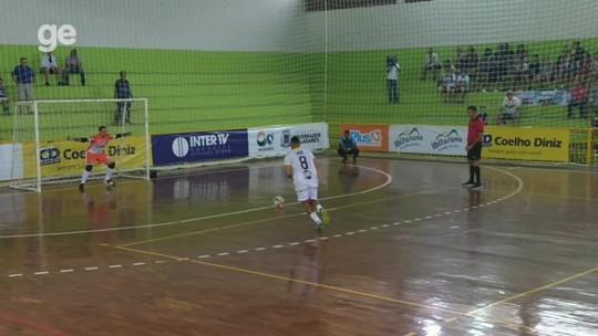 Timóteo bate Caratinga nos pênaltis e é o primeiro finalista da Taça Valadares de Futsal