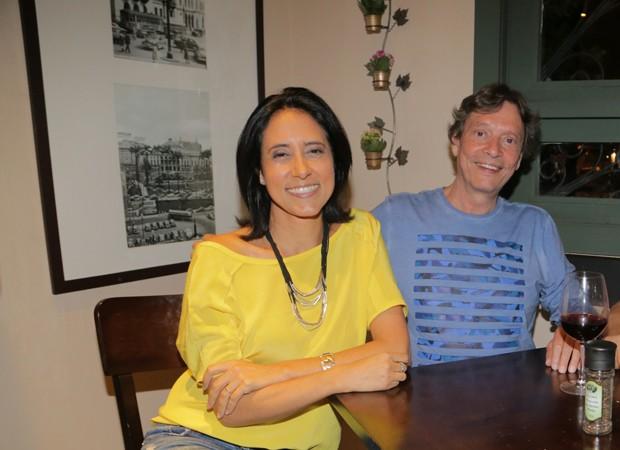 Adriana Bittar e o empresário Fábio Porchat  (Foto: Foto: Leco Viana/ The News 2/Divulgação)