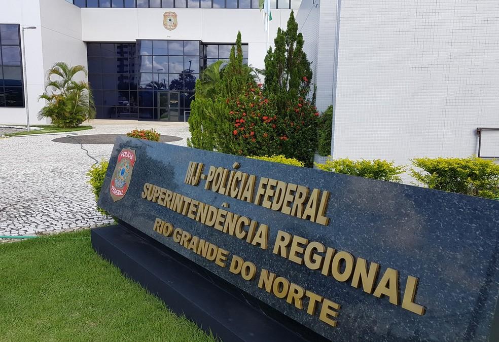Polícia Federal - Superintendência Regional do RN (Foto: Divulgação/PF)