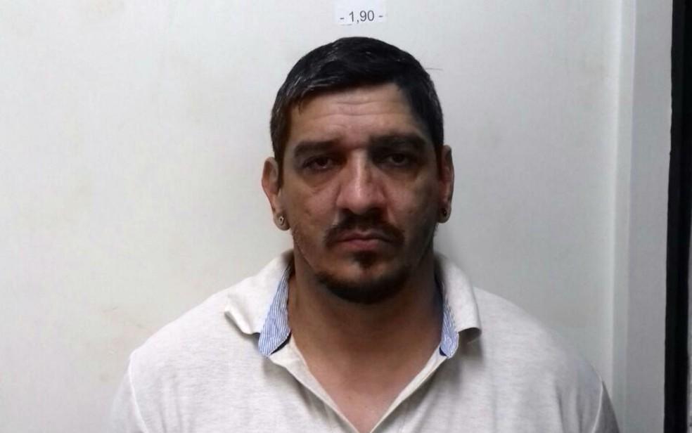 Tibério Vinícius França foi preso em Pernambuco (Foto: Divulgação/PF)