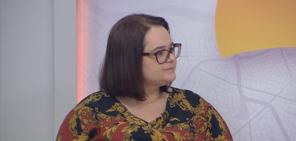 Regilaine Magali Crepaldi é promotora de Justiça — Foto: TVCA/Reprodução