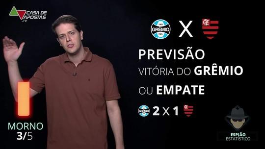 Grêmio x Flamengo: veja onde assistir, escalações, desfalques e arbitragem