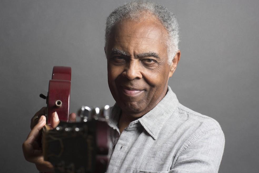 Gilberto Gil vai ser homenageado por bloco afro — Foto: Gerard Giaume/Divulgação