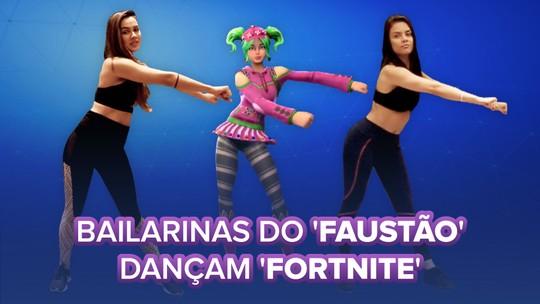 'Fortnite': Bailarinas do 'Faustão' ensinam danças que fazem jogadores gastarem até R$ 10 mil em game de tiro