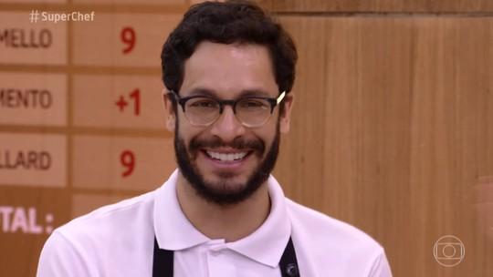 Rainer Cadete vence Prova de Repescagem e volta ao 'Super Chef'