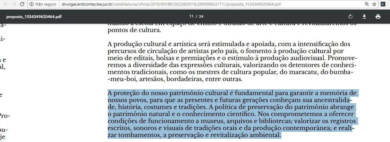 Trecho do programa da candidata Marina Silva (Foto: Reprodução)