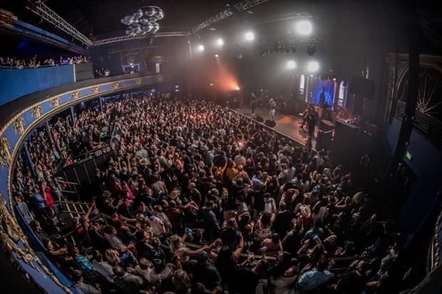 Show de Felipe Araújo em Londres (Foto: Divulgação)