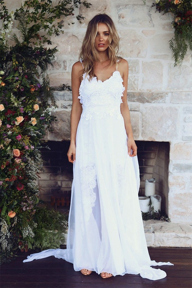 Este vestido teve mais de 2.5 downloads (Foto: Reprodução / Pinterest)