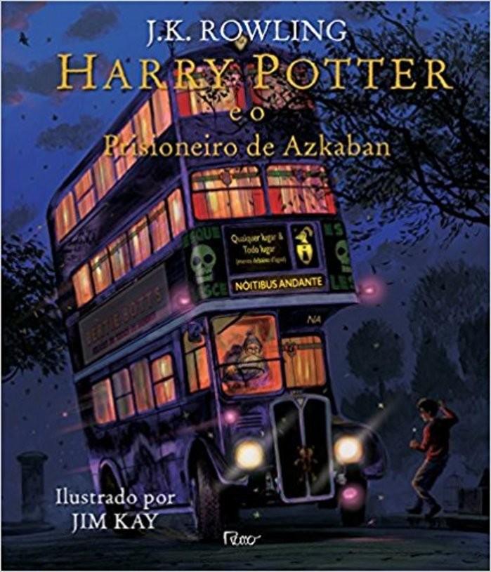 Versão ilustrada de Harry Potter e o Prisioneiro de Azkaban (Foto: Divulgação)