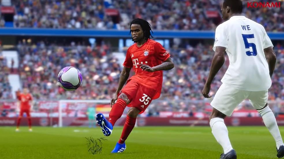 Bayern de Munique é um dos times licenciados em PES 2020 — Foto: Reprodução/eFootball PES