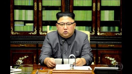 Coreia do Norte fala em novo teste com bomba H, e Trump chama Kim de louco