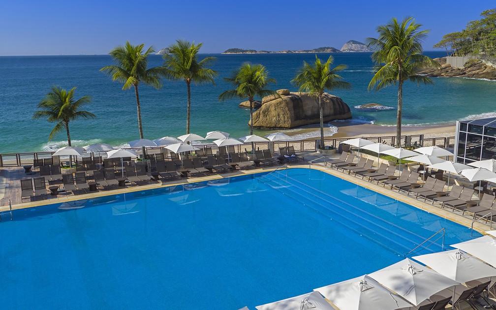 7a1197b5db ... Hotel em São Conrado registra aumento na procura para day use — Foto   Divulgação
