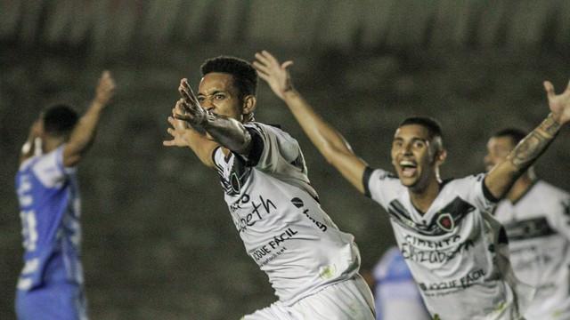 Tsunami marcou o gol da vitória do Belo sobre o Paysandu