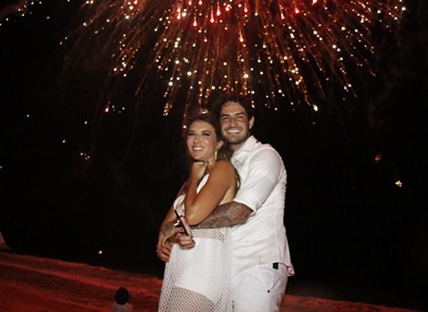 Rebeca Abravanel e Alexandre Pato_2 (Foto: Fred Pontes/Divulgação )