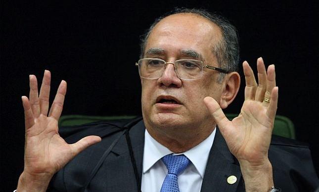 Ministro Gilmar Mendes durante sessão da 2ª turma, 12/09/2017