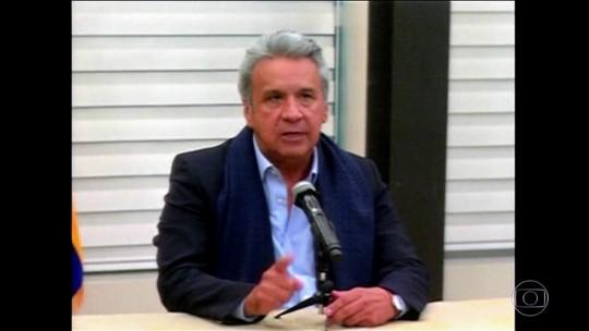 Presidente do Equador se reúne com ministros após sequestro de repórteres e um motorista