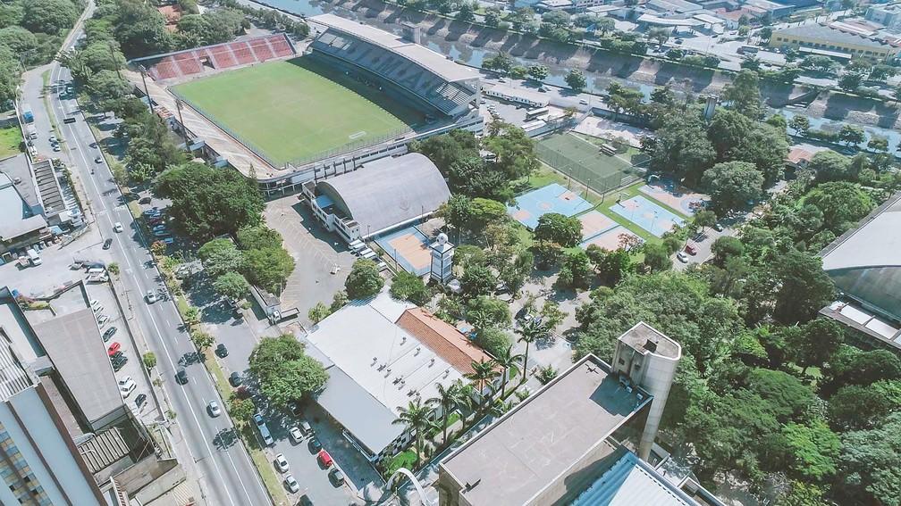 Parque São Jorge é sede e clube social do Corinthians — Foto: Divulgação